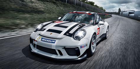 2017 porsche 911 gt3 cup race car unveiled