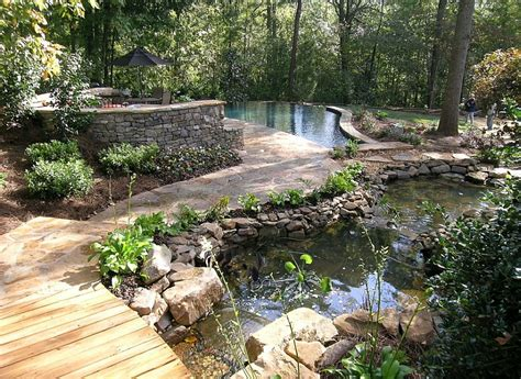 backyard landscaping ideas pools shaping an