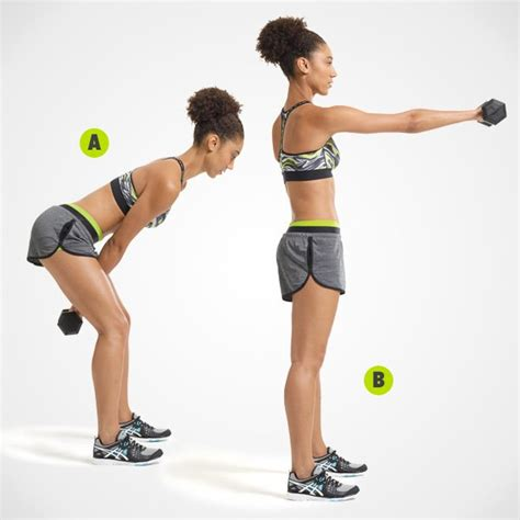 dumbbell arm swings the 15 minute one dumbbell workout