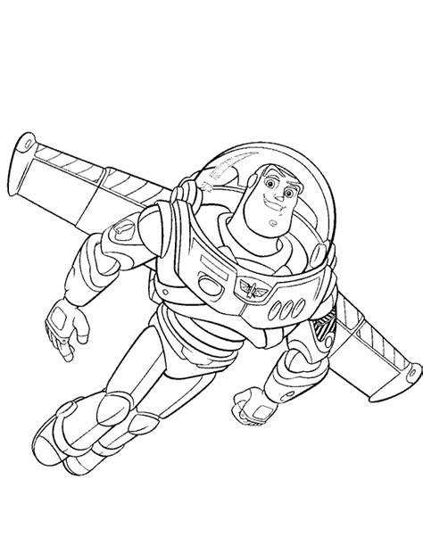 toy story flying buzz coloring pages toy story cartoon