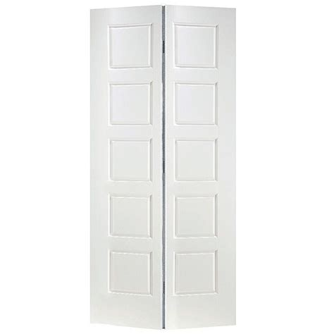 hollow core interior doors home depot masonite riverside smooth 10 panel hollow core primed composite interior bifold closet door