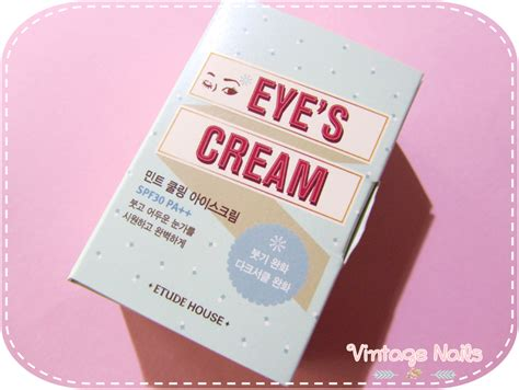 Etude Eye S Mint Cooling eye s mint cooling de etude house vintage nails