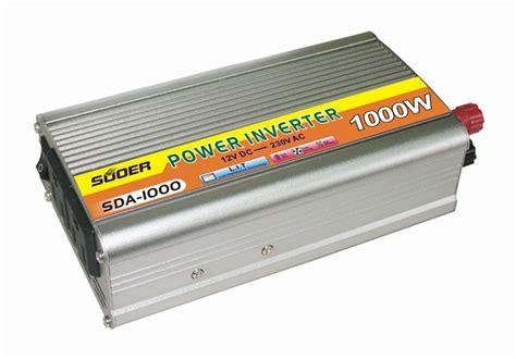 Promo Terbaru Power Inverter 1000w Dc 12v To Ac 220v 1000 Watt jual inverter 12v to 220v merk suoer produkunik