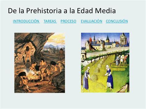imagenes realistas de la prehistoria de la prehistoria a la edad media