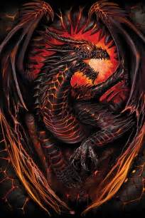 Children Wall Stickers spiral dragon furnace poster sold at europosters
