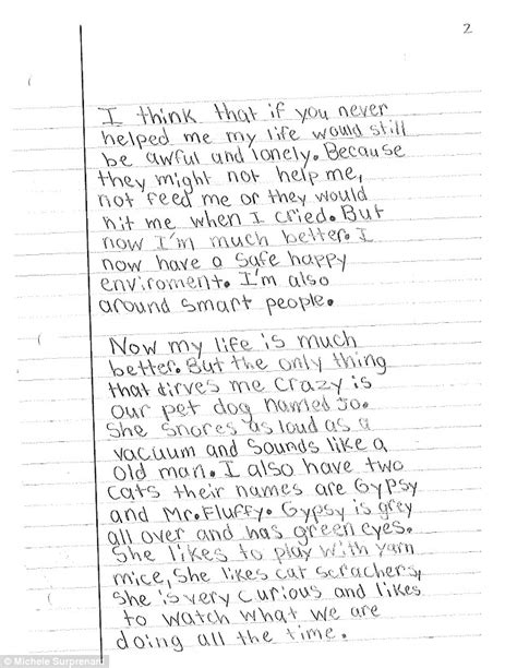 Support Letter To My Boyfriend Abuse Survivor Surprenant Writes Letter To Thank Social Workers Who Investigated