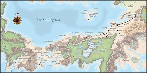 forgotten realms map forgotten realms maps