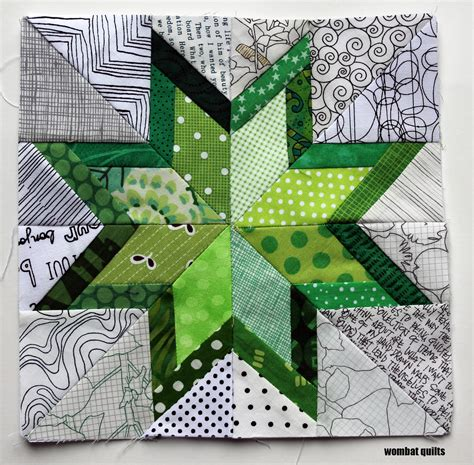 How To Make Paper Piecing Patterns - 8 inch stars a new paper piecing adventure wombat quilts