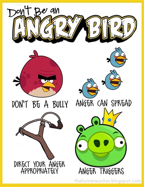 angry birds anger management worksheets 61 best images about safe place on pinterest