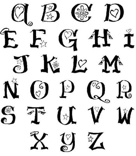 download imageswrite alphabets in a cool way different ways to write the letters of the alphabet 1000 ideas about writing alphabet letters