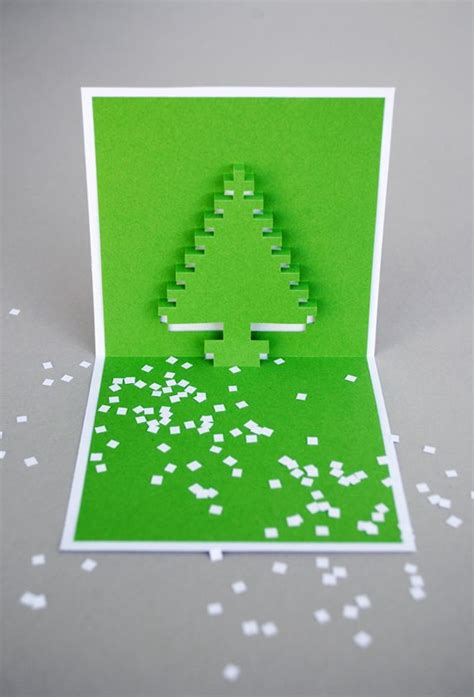 pixelated pop up card template pdf pixel popup cards popup cards and cards