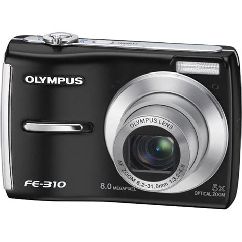 Kamera Olympus Fe 310 Olympus Fe 310 Digital Black 226170 B H Photo