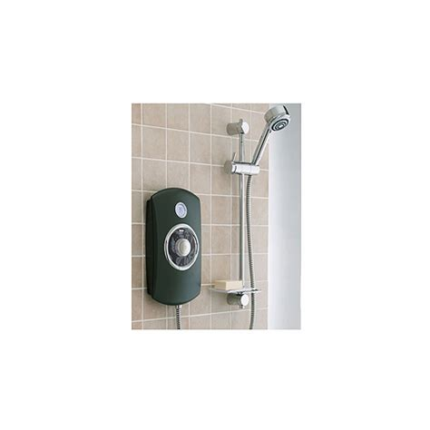 Mira Orbis 9 8 Kw Electric Shower by Mira Orbis 9 8kw Black Electric Shower Only 163 346 48