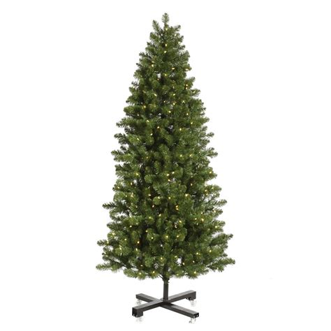 7 5 foot slim grand teton christmas tree clear lights