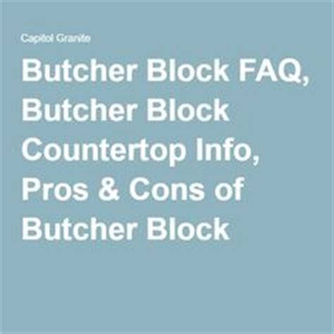 pros and cons of butcher block countertops 1000 ideas about butcher blocks on butcher