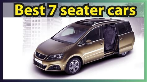 best 7 seater car best 7 seater cars in 2016 17 new cars 2017 usa