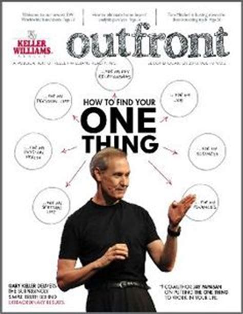 the one things books check out the 2nd quarter issue of outfront to learn about