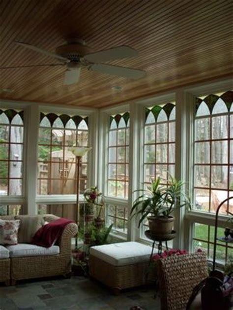Sun Porch Windows Sun Porch Wood Ceiling Glass At Top Of Windows