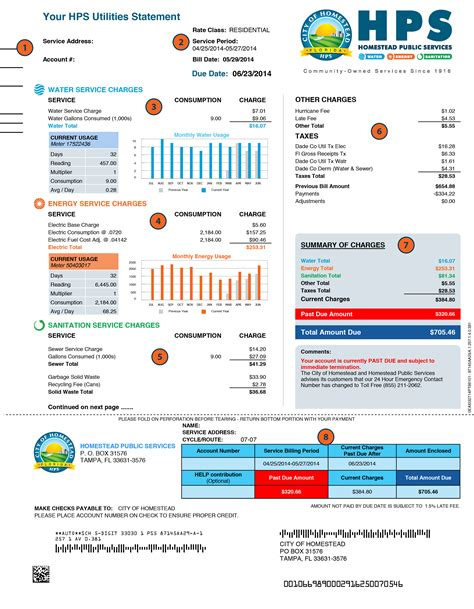 Utility Bill Lookup By Address About Your Bill Homestead Fl Official Website