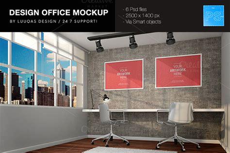 design office mockup office poster design images