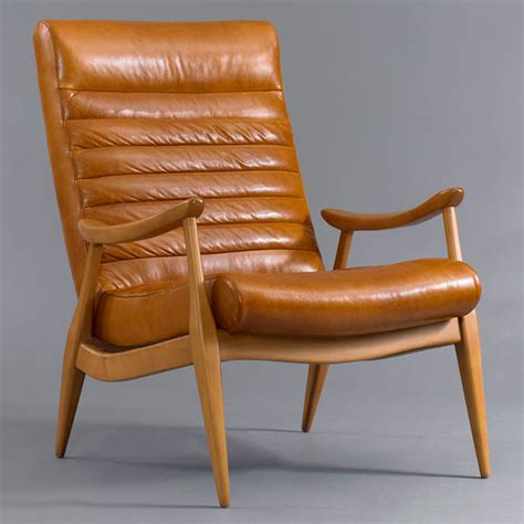 dwell armchair prairie perch leather club chairs let s go a sourcing