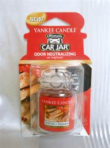 Car Air Freshener Ebay Uk Yankee Candle Ultimate Car Jar Sparkling Cinnamon Air