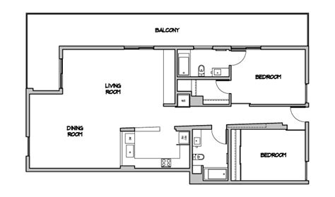 Open Modern Floor Plans by Modern Open Floor Plans Contemporary Floor Plan