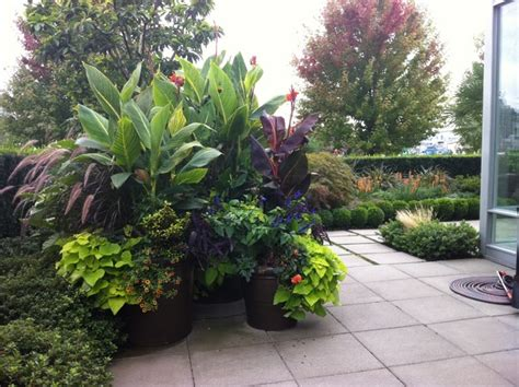 Tropical Planter Ideas by Asola Front Yard Landscaping Ideas Houzz Must See