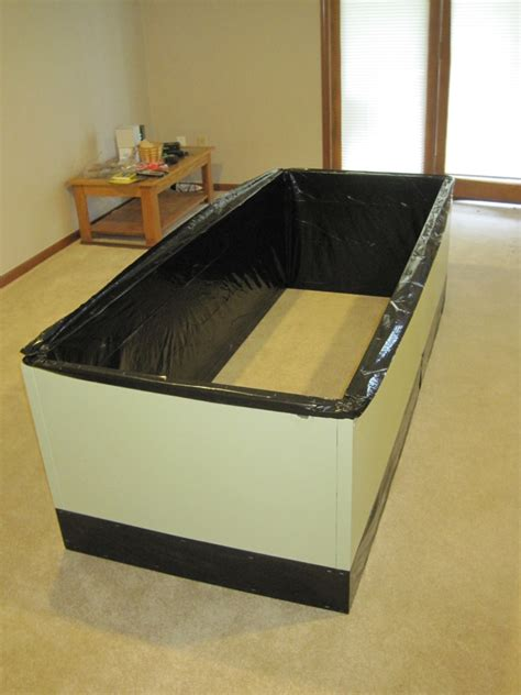 Garden Bed Liner by Diwyatt Lining The Garden Boxes Loving Here