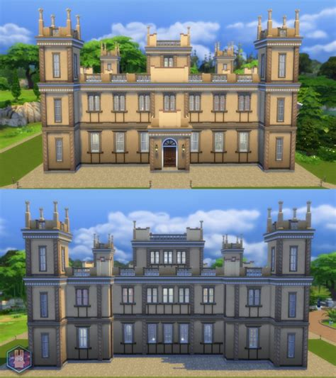 Sims 4 Downton Abbey (Highclere Castle)