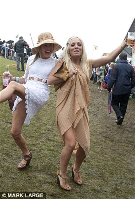 Last Day At Royal Ascot Resembles A Muddy Day At Glastonbury by Royal Ascot 2011 Prince Andrew Has His Own