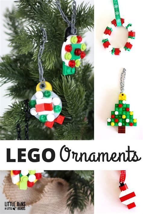simple   lego christmas ornaments  kids