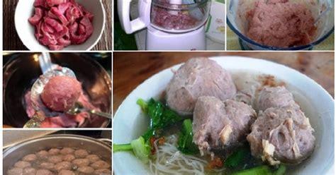 Baso Ayam Special Tanpa Bahan Pengawet praktis dan dijamin bikin ketagihan resep membuat bakso sapi lezat dan kenyal tanpa baking