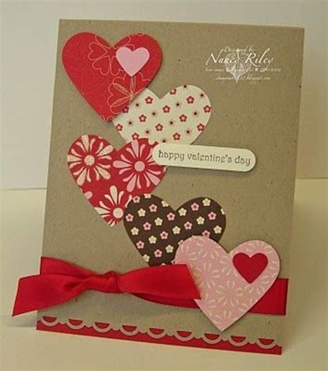 Handmade Valentines Day Cards - 8 valentines day cards