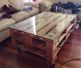 pallet coffe table industrial style pallet coffee table
