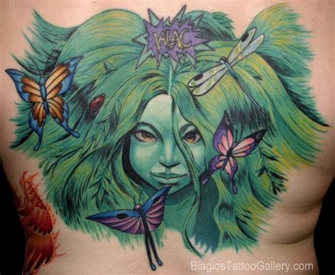 mother nature tattoo designs biagio s gallery tattoos nature animal