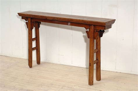Narrow Sofa Table Narrow Console Table At 1stdibs