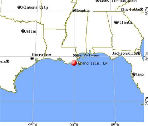 grand to la map grand isle louisiana la 70358 profile population maps