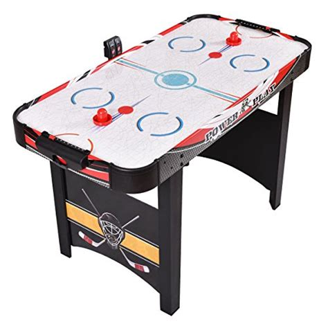 air hockey table price goplus 48 inch air powered hockey table best price