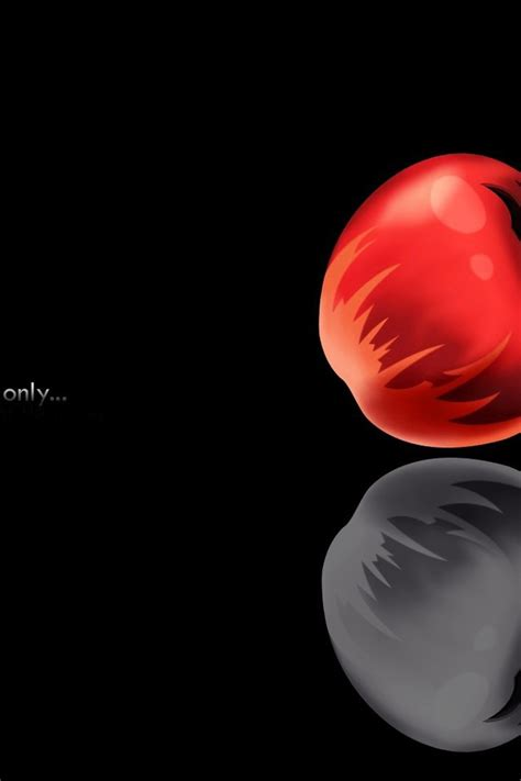 death note minimalistic apples wallpaper allwallpaperin  pc en