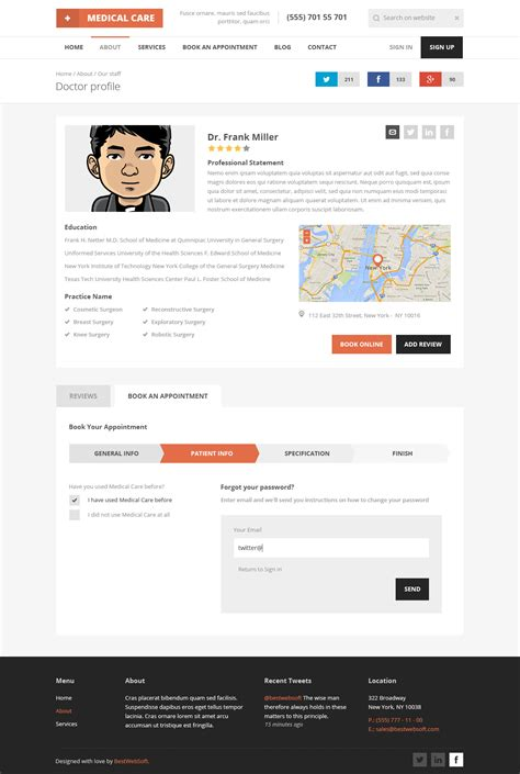html5 profile template care responsive html5 template by