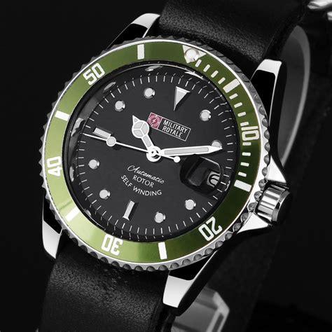 Jam Tangan Pria 109 royale jam tangan analog automatic mr105 107