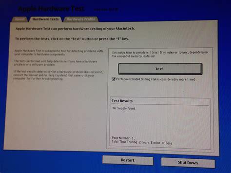 apple hardware test memory yosemite detects faulty ram module but apple