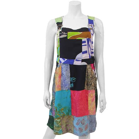 Patchwork Dungarees - patchwork dungarees dress fair trade handmade from