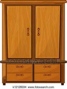 clipart of a wardrobe k12128334 search clip