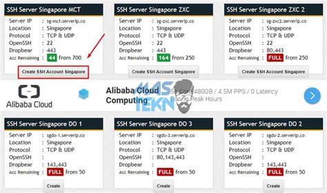 cara membuat vps gratis untuk akun ssh cara membuat akun ssh premium selamanya dengan mudah