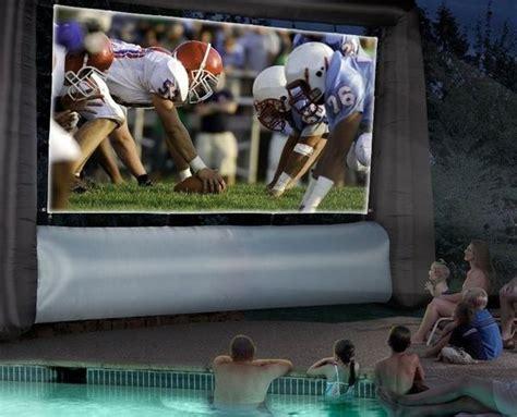 inflatable backyard movie screen blow up jumbo trons inflatable movie screen