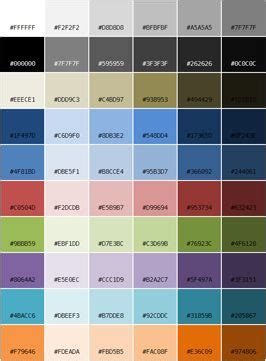 theme names related to colors windows theme color palette for the home pinterest