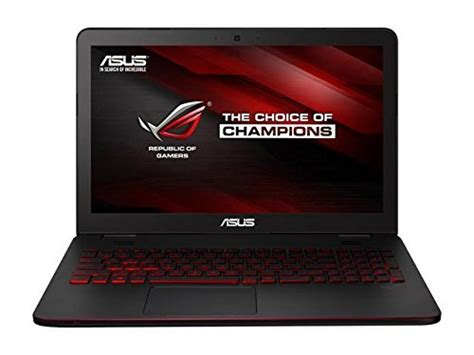 Asus 15 6 Inch Laptop Best Buy asus rog 15 6 inch gaming laptop intel i5 6300hq 8gb ddr4 ram 1tb hdd 7200 rpm nvidia