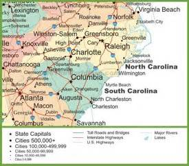 pin cary carolina area map on